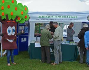 Beddington Farm Bird Group at the Carshalton Environmental Fair (© Peter Alfrey)